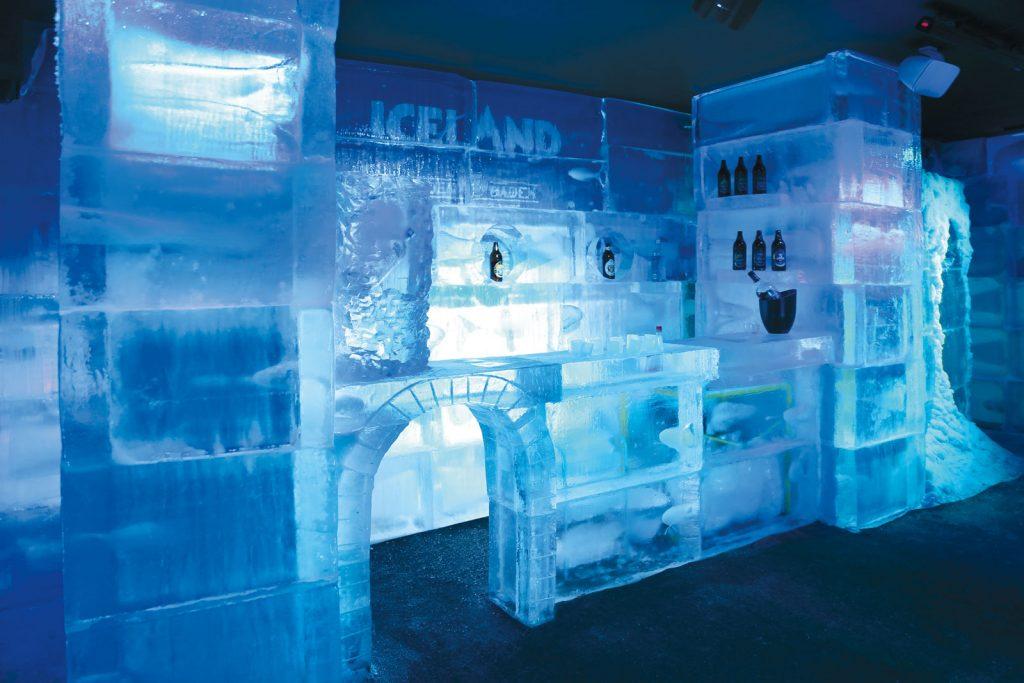 Bar de gelo Iceland