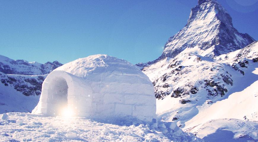 IGLU: O abrigo congelado que esquenta!