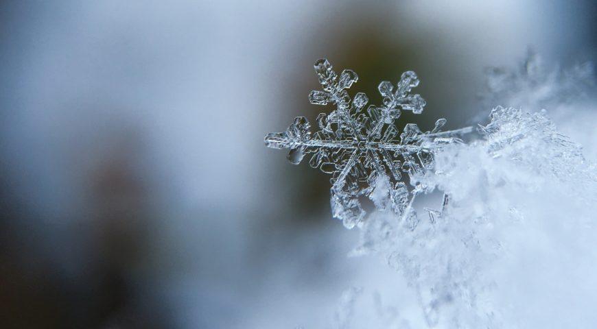 A Curiosa Química dos Flocos de Neve